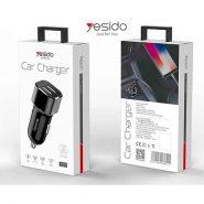 ، لیست قیمت شارژر فندکی یسیدو Yesido Y27 Car Charger توان 2.4 آمپر