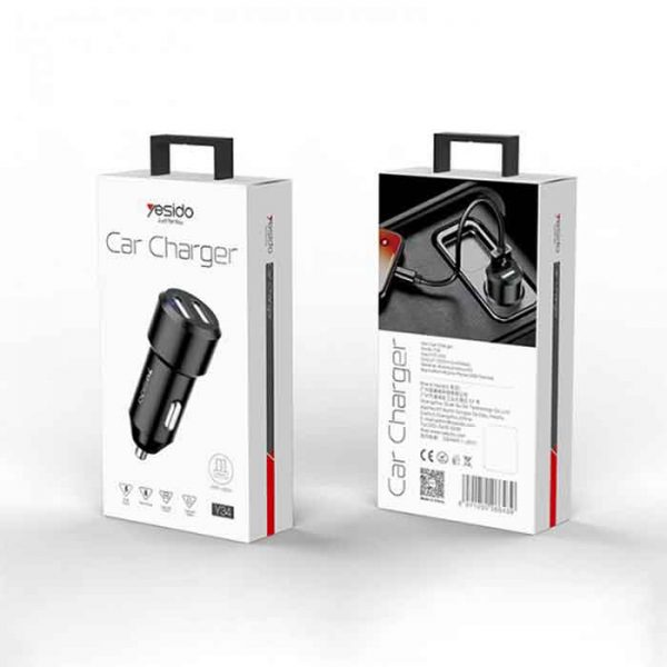 YESICO CAR CHARGER Y34