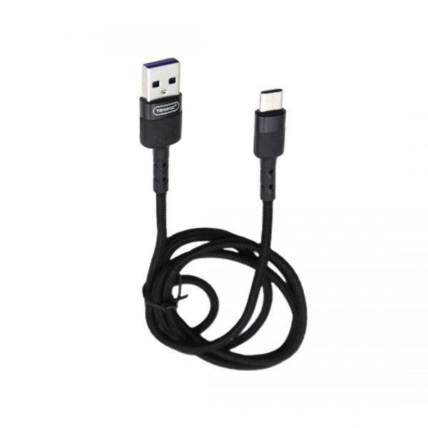 کابل USB به Type-C ترانیو مدل S5 طول 1 متر 5 آمپر