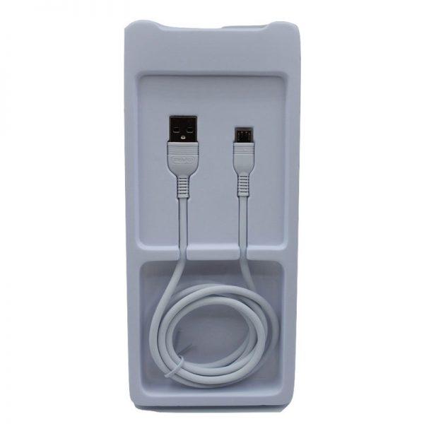 کابل USB به micro-usb ترانیو مدل S6 طول 1متر ۵ آمپر