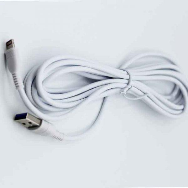 کابل USB به micro-usb ترانیو مدل S7 طول 3 متر 2 آمپر