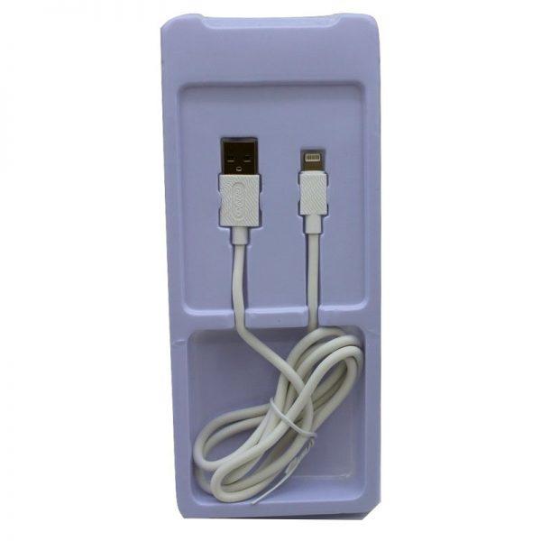 کابل USB به لایتنینگ ترانیو مدل X6 طول 1متر 5آمپر