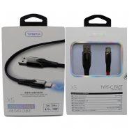 کابل USB به Type-C ترانیو مدل X5 طول 1متر ۵ آمپر 18 وات