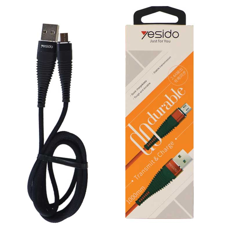 Yesido Ca12 USB To MicroUSB Cable 1M 2.4A
