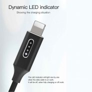 کابل USB به لایتنینگ یسیدو مدل Ca18 طول ۱٫۲متر ۲٫۴ آمپر