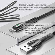 کابل USB به لایتنینگ یسیدو مدل Ca43 طول ۱٫۲متر ۲٫۴ آمپر