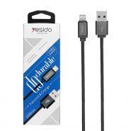 کابل USB به لایتنینگ یسیدو مدل CaT2 طول 1.2 متر 2.4 آمپر