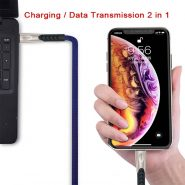 کابل USB به لایتنینگ یسیدو مدل Ca24 طول ۱٫۲ متر ۲٫۴ آمپر