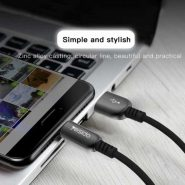 کابل USB به لایتنینگ یسیدو مدل Ca25 طول 1.2 متر ۲٫۴ آمپر