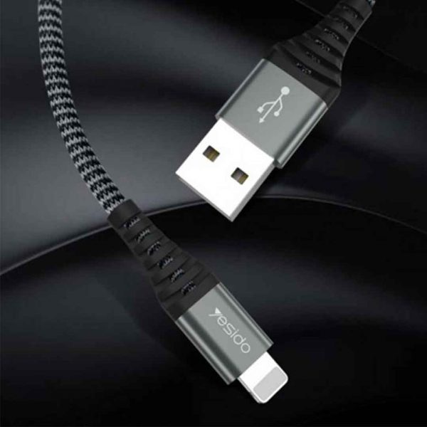 کابل USB به لایتنینگ یسیدو مدل Ca32 طول ۱٫۲متر ۲٫۴ آمپر