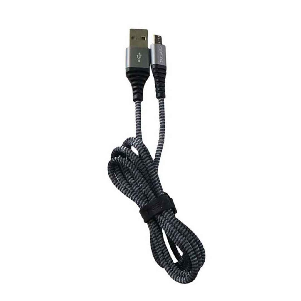 کابل USB به micro-usb یسیدو مدل Ca32 طول ۱٫۲متر ۲٫۴ آمپر