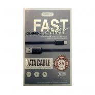 کابل USB به Type-C ترانیو مدل X9 طول 1متر 3آمپر