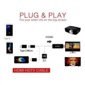 کابل EARLDOM HDMI ET-W13