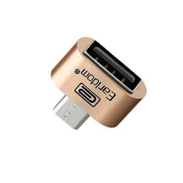 مبدل microUSB به USB OTG ارلدام مدل ET-OT01