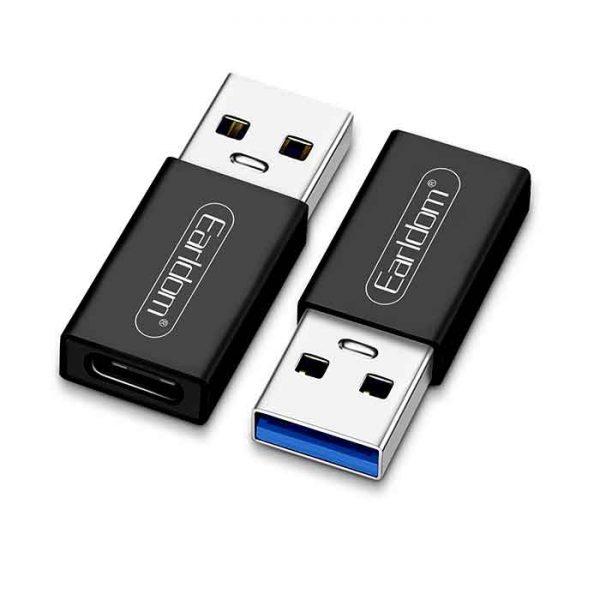 مبدل Type-C به USB OTG ارلدام مدل ET-TC07