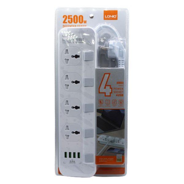 فروش عمده چند راهی برق LDNIO SE4408