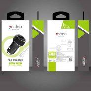 خرید شارژر فندکی یسیدو Yesido Y30 Car Charger توان 2.4 آمپر همراه کابل
