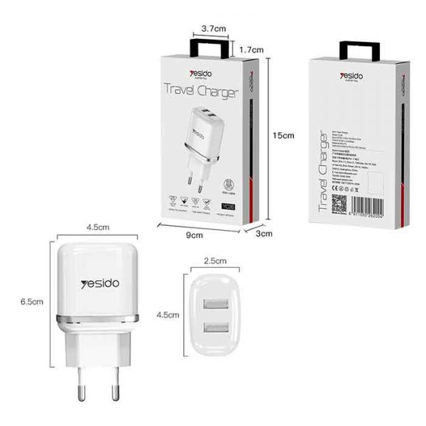 Yesido fast wall charger yc26