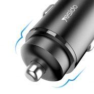 خرید اینترنتی شارژر فندکی یسیدو yesido Y35 فست شارژ کوالکام 3 Qualcomm 3.0 فندکی فست شارژ نسل 3 یسیدو ...