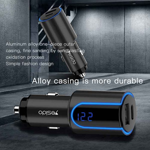 YESIDO FAST CAR CHARGER Y32