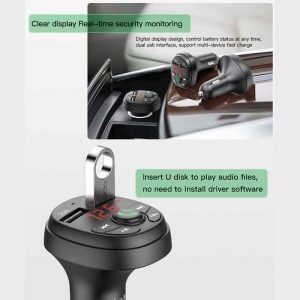 Yesido-FM-Transmitter-Car-Charger-Y36-5
