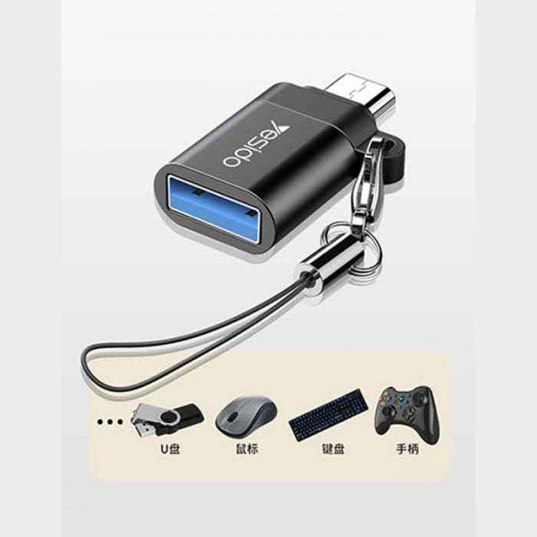 Yesido GS07 OTG USB To MicroUSB عمده