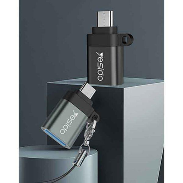 Yesido GS07 OTG USB To MicroUSB Adapter