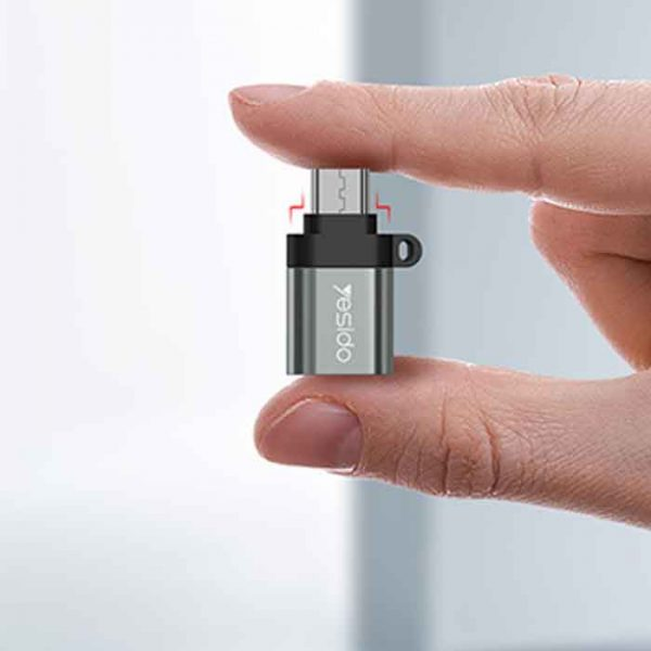مبدل USB به MicroUSB یسیدو مدل GS07