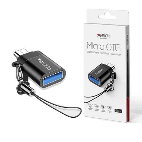 تبدیل Yesido GS07 OTG MicroUSB