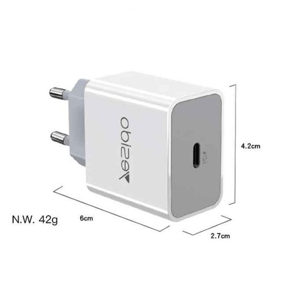 Yesido-PD-Fast-Charger-18W-YC27-8