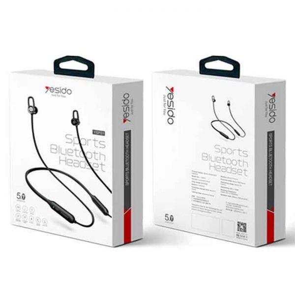 خرید آنلاین هندزفری بلوتوث گردنی یسیدو YSP01