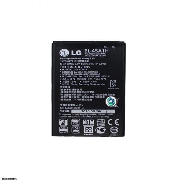 خرید اینترنتی باتری موبایل ال جی مدل K10
