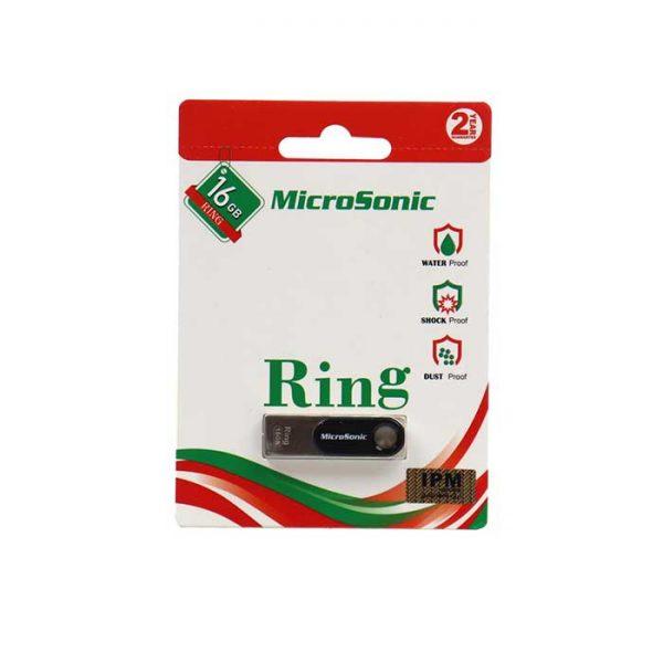 فلش مموری میکروسونیک مدل Ring ظرفیت 16 گیگابایت