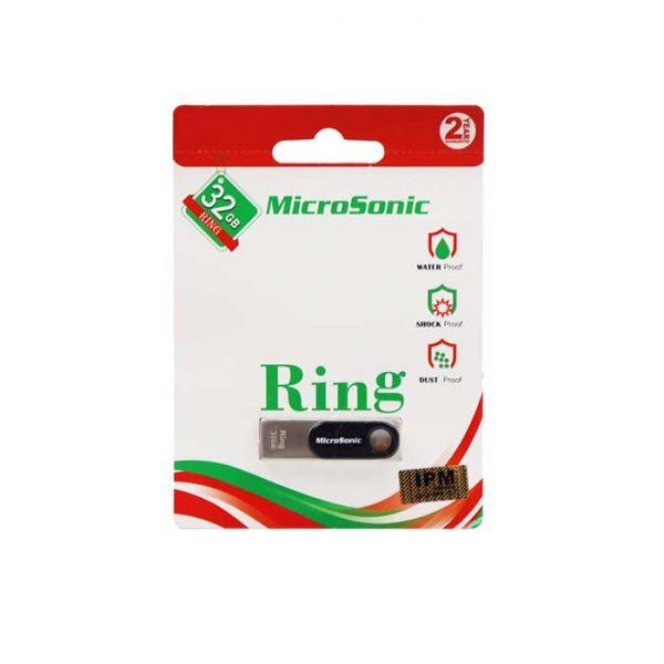 فلش مموری میکروسونیک مدل Ring ظرفیت 32 گیگابایت