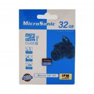 کارت حافظه microSDHC میکروسونیک مدل U1 ظرفیت 32 گیگابایت