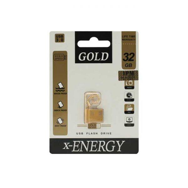 فلش مموری ایکس-انرژی مدل GOLD ظرفیت 32 گیگابایت