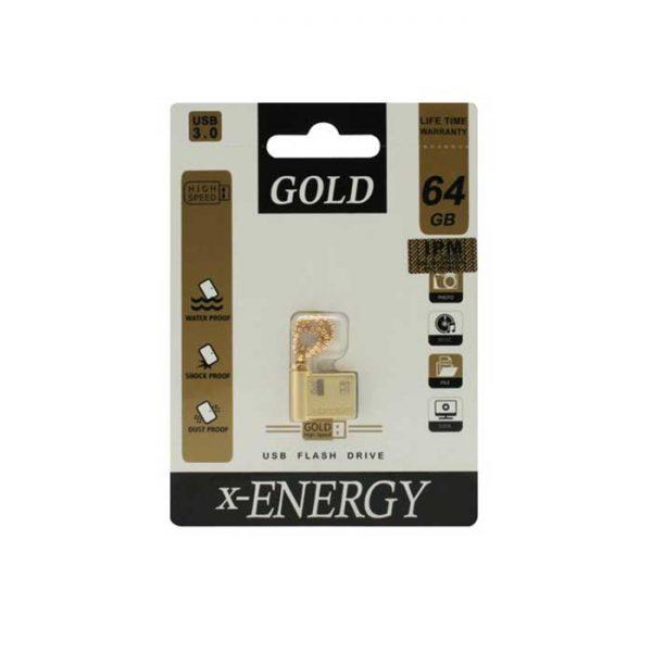 فلش مموری ایکس-انرژی مدل GOLD ظرفیت 64 گیگابایت