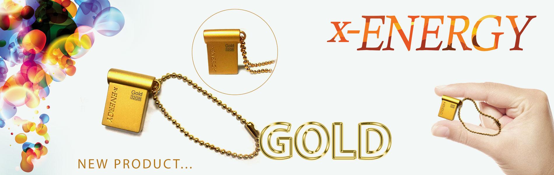 فلش مموری ایکس-انرژی مدل GOLD