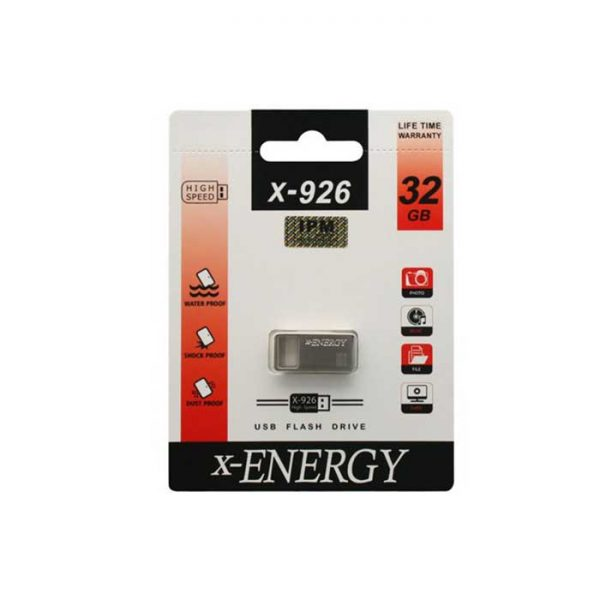 فلش مموری ایکس-انرژی مدل X-926 ظرفیت 32 گیگابایت