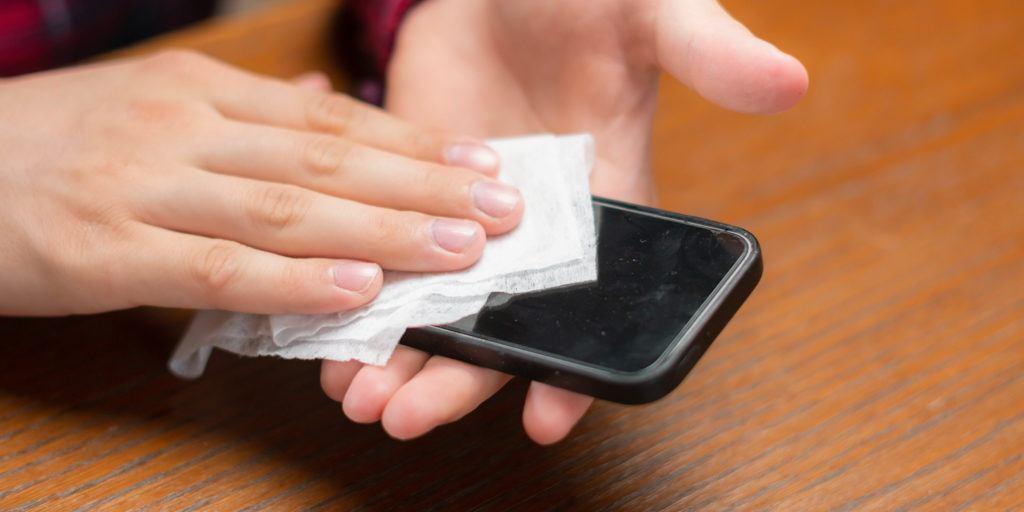 دستورالعملهای ضد عفونی کردن موبایل