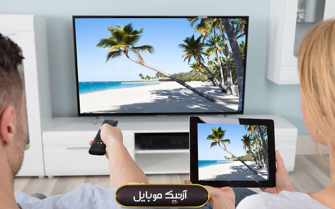 اتصال گوشی به تلویزیون