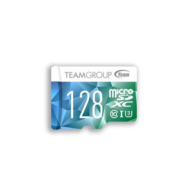 کارت حافظه microSDXC تیم گروپ مدل 600X U3ظرفیت 128 گیگابایت با خشاب
