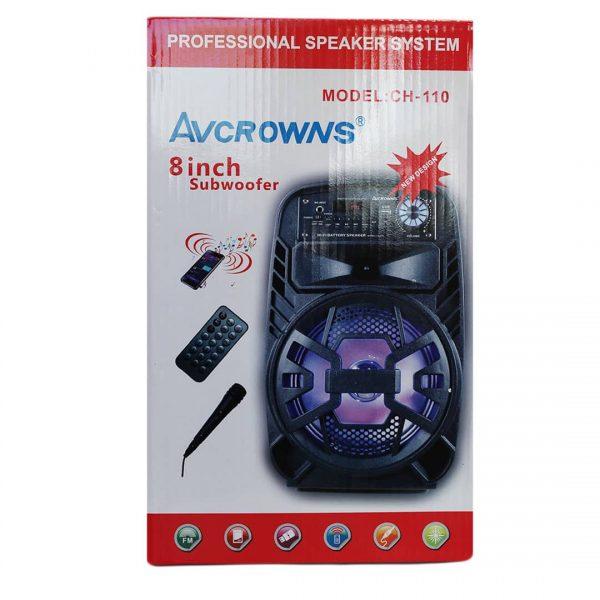اسپیکر AVCROWNS مدل CH110