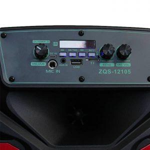 خرید عمده اسپیکر چمدانی ZQS-12105