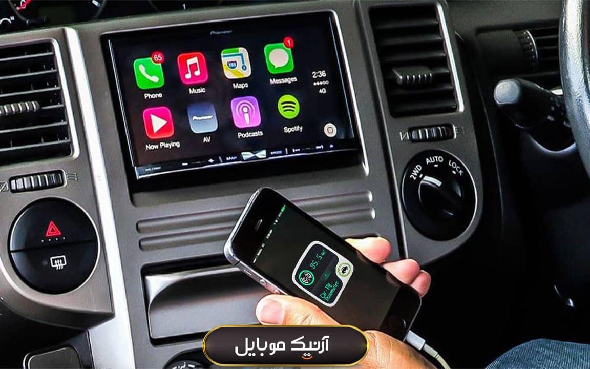 روش های اتصال گوشی به ضبط ماشین