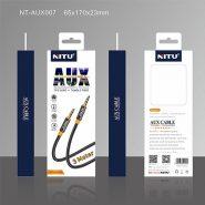 کابل Aux نیتو مدل NT-AUX007 طول 3متر