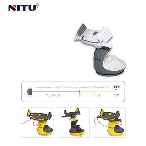 خرید پایه نگهدارنده داشبوردی موبایل نیتو NT-NH05