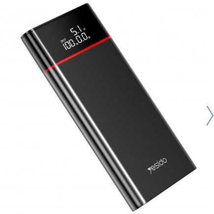 پاوربانک فست یسیدو مدل YP15 ظرفیت ۱۰۰۰۰ میلی آمپر ساعت