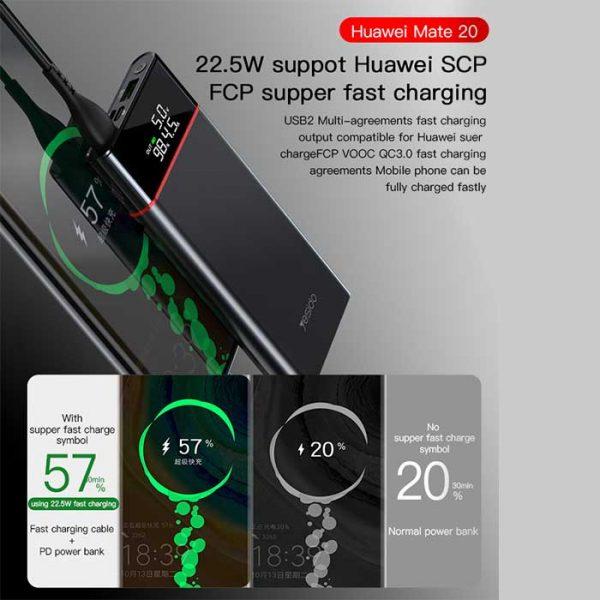 خرید پاوربانک فست شارژ یسیدو YESIDO YP15