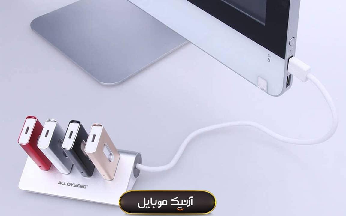 تعداد پورت هاب USB